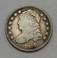 1831 CAPPED BUST DIME UNGRADED