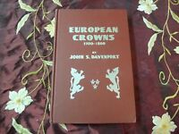 EUROPEAN CROWNS 1700 1800 JOHN S. DAVENPORT 1961 W/VALUATIONS NUMISMATIC REF