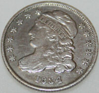 1834 P CAPPED BUST DIME [SN03]