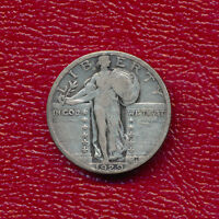 1929 STANDING LIBERTY SILVER QUARTER NICE CIRCULATED