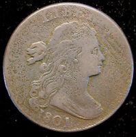 1801 S 213  DRAPED BUST LARGE CENT