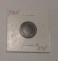 1865 INDIAN CENT       PRICED TO SELL