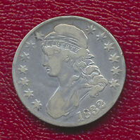 1832 CAPPED BUST HALF DOLLAR NICE LIGHTLY CIRCULATED COIN