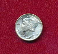 1937 MERCURY SILVER DIME VERY NICE LIGHTLY CIRCULATED