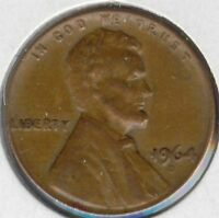 USA 1964 D AMERICAN 1 CENT LINCOLN MEMORIAL PENNY 1964D 1C EXACT COIN SHOWN
