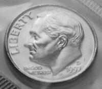 1997 D ROOSEVELT DIME FROM MINT SET