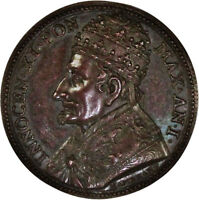 1676 POPE INNOCENT XI ANNO I PAPAL MEDAL
