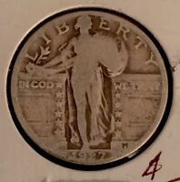 1927-P US STANDING LIBERTY 25C 90 SILVER  VG? ULTRA LOW FIXED PRICE