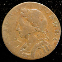 1787 CONNECTICUT COLONIAL COIN M4 L