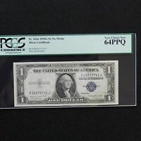 $1 1935 G NO MOTTO SILVER CERT PCGS 64 PPQ CHOICE NEW FR  1616  DJ BLOCK