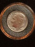1971 D ROOSEVELT DIME BU UNC UNCIRCULATED FROM MINT SET IN AIR TITE HOLDER