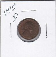 LINCOLN CENT 1915D