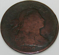 1797 DRAPED BUST LARGE CENT PLAIN EDGE [SN01]