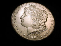 1887-S MORGAN DOLLAR OUTSTANDING FLASHY COIN   19