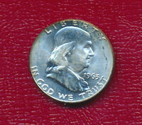 1963 SILVER FRANKLIN HALF DOLLAR BEAUTIFUL UNCIRCULATED HALF