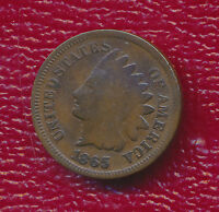 1865 INDIAN HEAD CENT  CIRCULATED EARLY INDIAN HEAD CENT SHIPS FREE