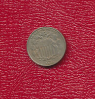 1883 SHIELD NICKEL VERY NICE EARLY U.S. NICKEL STRONG DETAIL