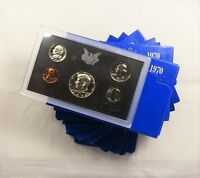 10PC. LOT OF 1970 PROOF SETS   IN OGP
