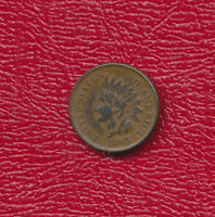 1865 INDIAN HEAD CENT SEMI-KEY DATE   CIRCULATED CENT SHIPS FREE