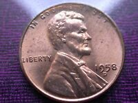 1958 D LINCOLN WHEAT CENT. UNC CONDITION SEE PICS