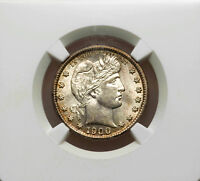1900 S BARBER QUARTER NGC MS62 NICE COIN