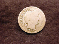 1898 BARBER DIME NICE COIN  17