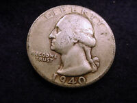 1940 WASHINGTON QUARTER NICE COIN    110