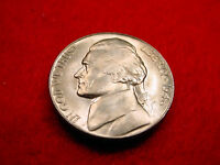 1946 D JEFFERSON NICKEL GEM BU COIN WITH GORGEOUS LUSTER FROM ORIGINAL ROLL13