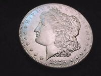 1879-S REVERSE OF '78 MORGAN DOLLAR  GORGEOUS FROSTY BU VARIETY DOLLAR  100