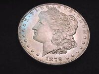 1879-S REVERSE OF '78 MORGAN DOLLAR EXCELLENT BU VARIETY DOLLAR  110