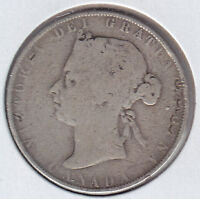 1900 CANADA SILVER FIFTY CENTS