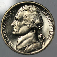 1972 P FULL STEP FS GEM BU JEFFERSON NICKEL SP