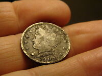 1905 US LIBERTY NICKEL 5 CENT COIN