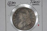 1830 CAPPED BUST 50C HALF DOLLAR