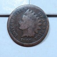 1865 INDIAN HEAD PENNY // G GOOD // I4930