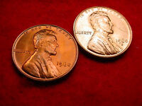 1960 P & D SMALL DATE LINCOLN CENTS 2 GREAT BU COINS   422