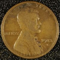 1913 SAN FRANCISCO LINCOLN WHEAT CENT