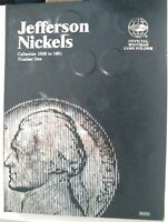 1952 1952 D 1952 S BU NICKELS IN A NEW WHITMAN COIN FOLDER
