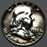 1953 P FRANKLIN HALF DOLLAR SILVER PROOF [SN07]