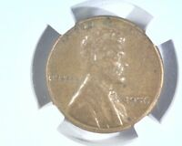 1956 D/D LINCOLN WHEAT CENT  FS.01 1956 D 501  NGC XF DETAILS IMPROPERLY CLEANED