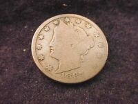 1887 LIBERTY NICKEL EXTRAORDINARY KEY DATE COIN    40