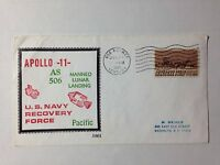 APOLLO 11 AS506 US NAVY RECO FORCE USS HORNET PACIFIC 7/24/1969 BECK COVER