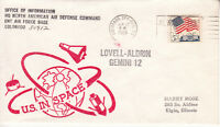 GEMINI 12 NORAD OFFICE OF INFORMATION 11/12/66 COLORADO SPRINGS CO FDC