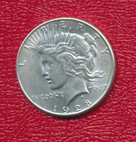 1928 S PEACE SILVER DOLLAR VERY NICE MILDLY CIRCULATED DOLLAR