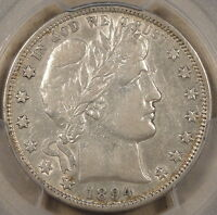1894 BARBER HALF DO PCGS XF40 NICER THAN MY PICTURE SUGGESTS SOME LUSTER REMAINS