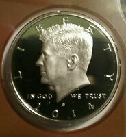 2014 S PROOF KENNEDY HALF DOLLAR FROM US MINT SET