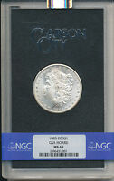 1883-CC MORGAN SILVER DOLLAR GSA HOARD-GREAT COLOR NGC MINT STATE 65 SHIPS FREE