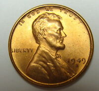 1949 S LINCOLN CENT NICE RED COLLECTOR COIN