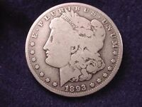 1893-O MORGAN DOLLAR OUTSTANDING KEY DATE DOLLAR  200