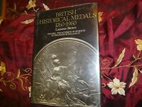 BRITISH HISTORICAL MEDALS 1760 1960 LAURENCE BROWN 1980 NUMISMATIC REF